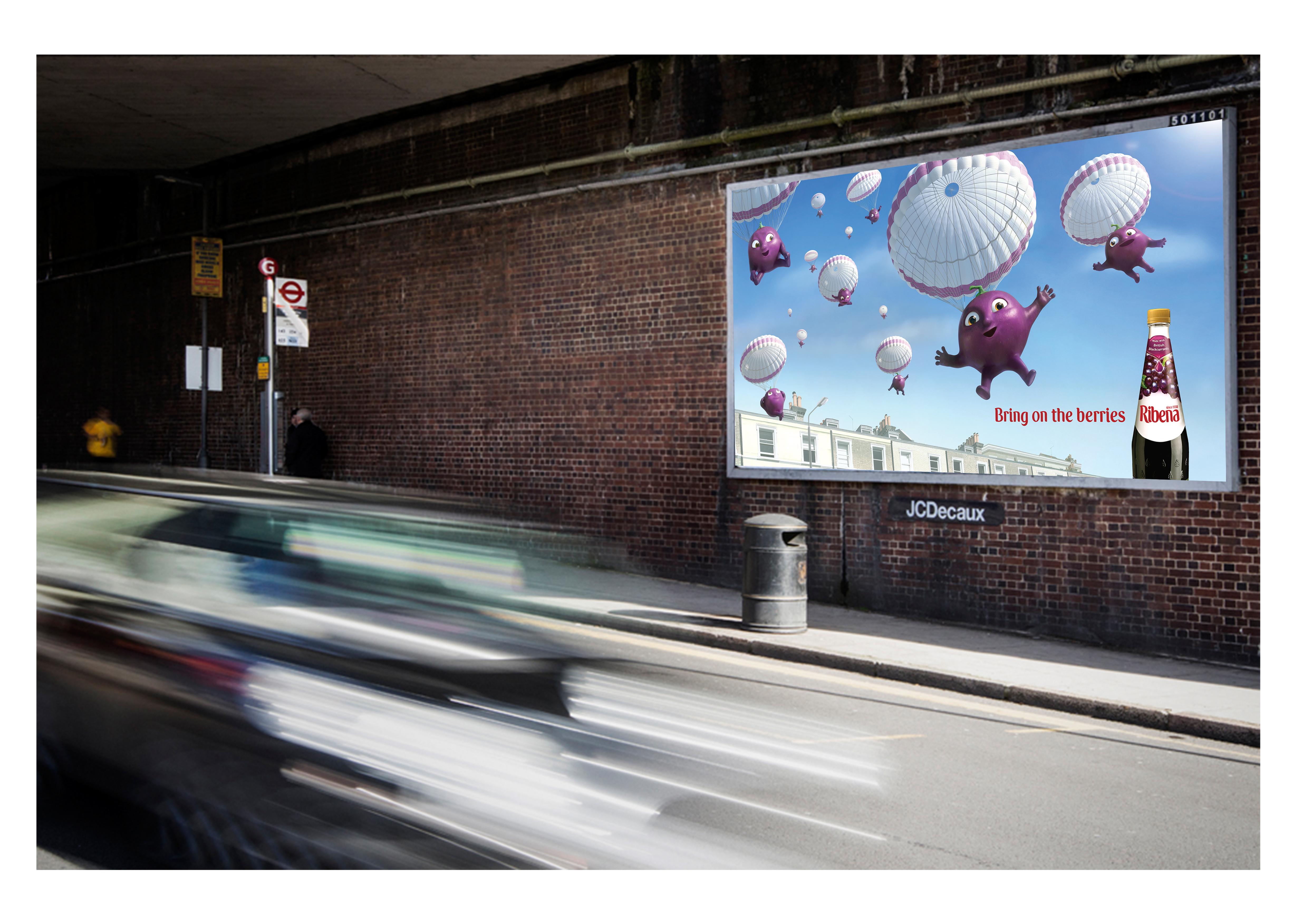 Ribena Insitu billboards