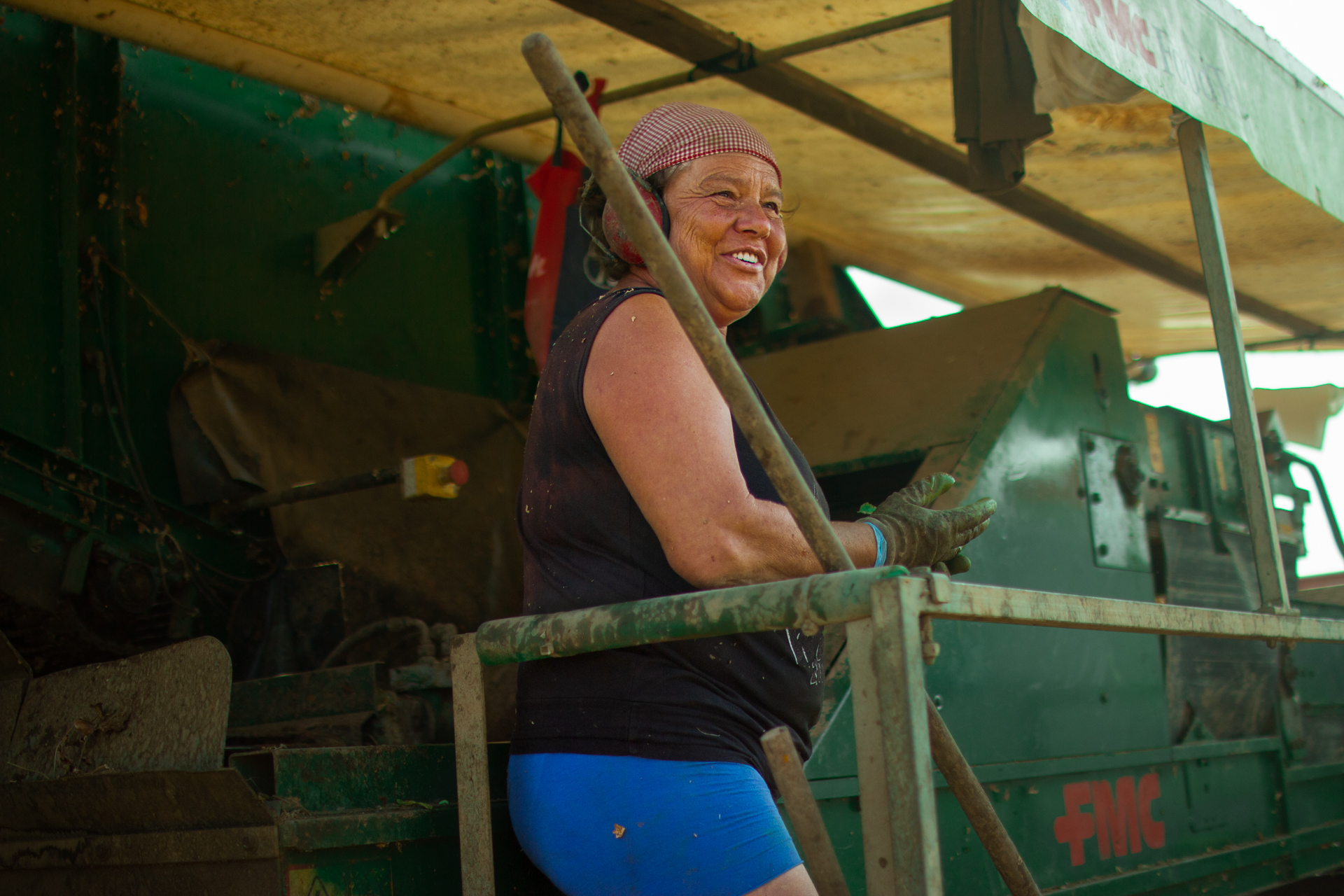 Farmer Woman happy
